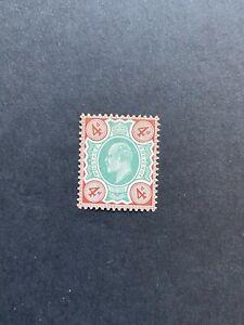 Great Britain 1902-10 DLR 4d green & chocolate brown chalk-surfaced U/M SG 236a