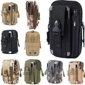 Waist Belt Bum Bag Sport Running Molle Pack Mobile Phone Case Cover Purse Pouch