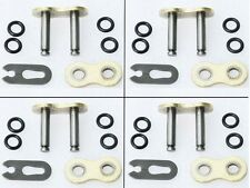4pcs Motorcycle O Ring 530 Chain MASTER JOINT LINKS CLIP Chip Type Joining link