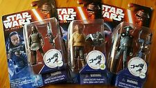 Star Wars(Combine Weapon Action Figure)- Tasu Leech,Admiral Ackbar,Inquisitor