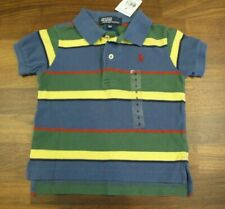 Polo Ralph Lauren Baby Boys Striped Polo Shirt Size 9 Months New