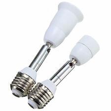 E27 to E27/E14 Flexible Extend Light Lamp Bulb Adapter Converter Screw Socket