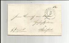 Di Prussia V./vecchio montagne 24/8, k2 M. dat. - Str. su gabinetto-LUCIDO-S. - lettera