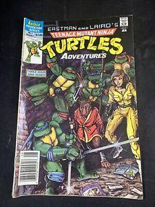 (Lot Of 2) Teenage Mutant Ninja Turtles Adventures No. 1, 3 Archie Comics Aug 88