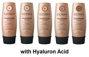 GOSH FOUNDATION PLUS + Cover & Conceal Hydration SPF15 with Hyaluron 30 ml