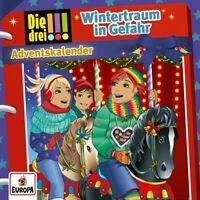 DIE DREI !!! - ADVENTSKALENDER-WINTERTRAUM IN GEFAHR  2 CD NEU