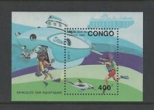 CONGO 1993 MARINE SUBMERSIBLES MINIATURE SHEET *VF MINT NEVER HINGED*