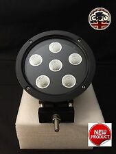 "LED CREE 60W 7"" x 1 Roof Spot Light Black 4x4 SUV UK Supplier 2 Year Warranty"