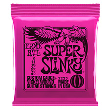 Ernie Ball 2223 Super Slinky Electric Guitar Strings 9 - 42