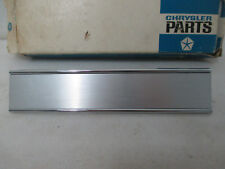 Mopar NOS 1968 Plymouth Fury VIP, Left Hand Inner Tail Lamp Bezel 2853165