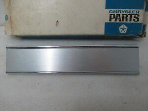 Mopar NOS 1968 Plymouth Fury VIP, Left Hand Inner Tail Lamp Bezel 2853165