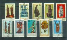 Kompletter Satz Briefmarken aus Burundi, MI 335-344, gestempelt