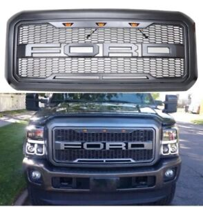 FORD F-250 Front Grille Raptor Style Guard For 11-16 2011-2016