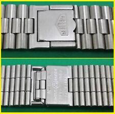 Vintage HEUER 1133 MONACO STEEL NSA 22mm WATCH BAND BRACELET - SWISS MADE