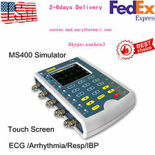 Touch Screen Patient multi-parameter Simulator ECG/IBP/RESP/TEMP Arrhythmia USA