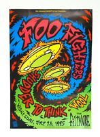 Foo Fighters original Fillmore Poster July 26 1995