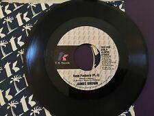 James Brown - Rapp Payback /  Rapp Payback Part II  TK Records 45 VG+