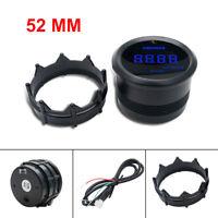 Tacho/Rev Counter Gauge Tachometer Blue LED RPM Light Universal Car Motorcycle