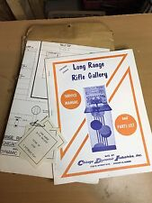 Chicago Coin Long Range Parts Catalog schematic