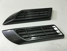 CAR SIDE PANEL FENDER VENT COVER BLACK BLUE GREEN RED SOLAR LIGHT X 2 PIECES