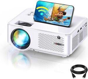 BRAND NEW HD WiFi Mini Projector 1280x800P 1080P HD iPhone HDMI/USB/Android/iOS