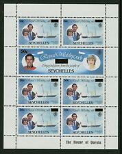 Seychelles  1983  Scott # 528-533  Mint Never Hinged Souvenir Sheet Set