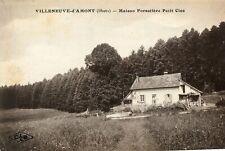 Carte VILLENEUVE D'AMONT Maison Forestière Petit Clos