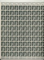 Stamp Germany Mi 781 Sc 506 Sheet 1941 WWII 3rd Reich Era Hitler Head War MNH