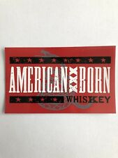 Lee Brice American Born Whiskey Sticker