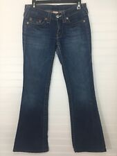 True religion girl's jeans pants Bobby low rise size 28 (D13)