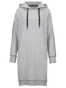 JOOP! Shirt Kleid mit trendigem Webband grau Gr. 42 0721932111