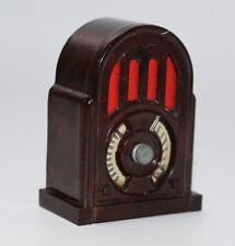 alter Bakelit Radio Volksempfänger für Puppenstube ca. 1938/40  #J169