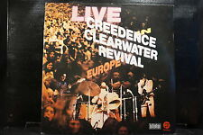 Creedence Clearwater Revival - Live In Europe    2 LPs