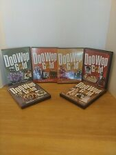 Doo Wop Gold Time Life Rhino 50 51 Rock, Rhythm Volume 1 and 2 Dvd Lot 6 Discs