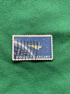 1962 Stamp 4¢ Project Mercury Man In Space