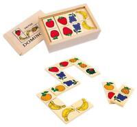 ds Gioco Tavolo Società Domino Frutta Con Scatola In Legno Giochi Di Carte dfh