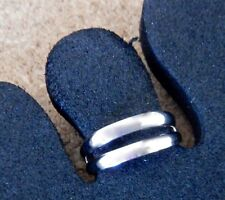 TOE RING STERLING SILVER 925 ADJUSTABLE SOLID DOUBLE BAND BEACH FASHION womens