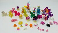 Lot of 17 My Little Pony MLP Mini Figures With Clothing and Accessories