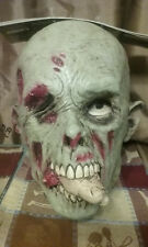 Zombie Flesh Eater Latex Mask , Zombie Mask , Severed Fingers , Horror Mask