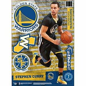 Stephen Curry Golden State Warriors Fathead Teammate Wall Decals 8x16 - NEW!