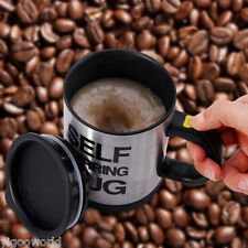 Perfect Double Insulated Self Stirring Mug Electric Coffee Cup Souvenir 400ml