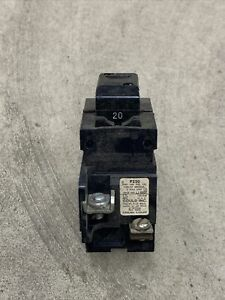 Pushmatic P220 2 Pole Circuit Breaker 20A 20 Amp New Old Stock NOS