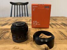 Sony FE 35mm f/1.8 Standard Camera Lens - Sony E-mount