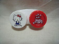 Sanrio Hello Kitty Contact Lens Case Holder from Japan Free Shipping