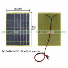 ECO Portable 10W Solar panel 10 Watt 12 V Garden Fountain laptop Battery Charger