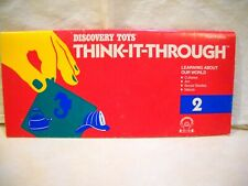 Discovery Toys Think-It-Through Learning About Our World Book 2 Home School