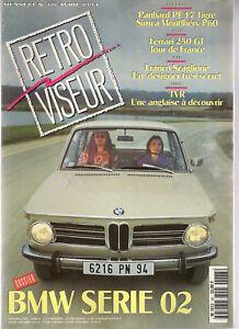 RETROVISEUR 68 DOSSIER BMW SERIE 02 PANHARD PL17 TIGRE FERRARI 250 GT TOUR DE FR