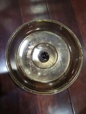 Vintage Corning Vision Amber Glass 4.5 L Dutch Oven Lid Only