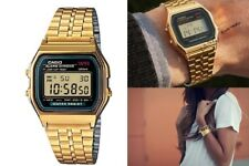 Unisex Mens Womens Watch CASIO A159WGEA-1 VINTAGE Steel Golden Classic DD
