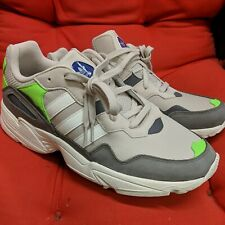 New Adidas Original Yung-96 Brown White Green F97182 Men's Size 10.5